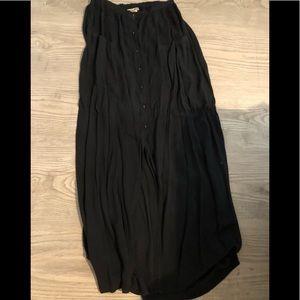 Black Maxi Skirt Forever 21